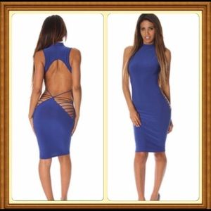 Dresses & Skirts - Blue Strappy Dress